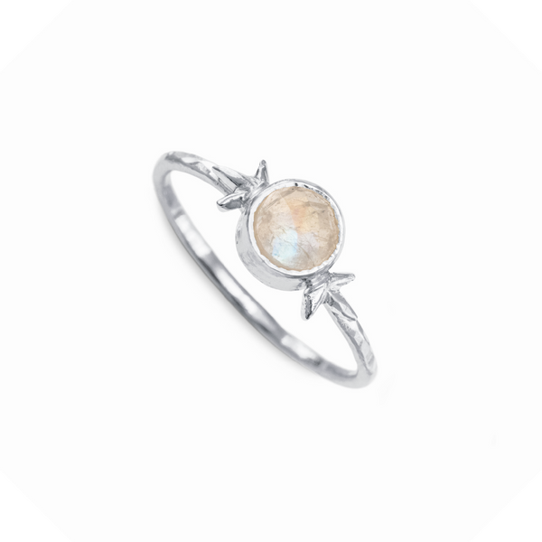 Larissa Gemstone Ring Sterling Silver