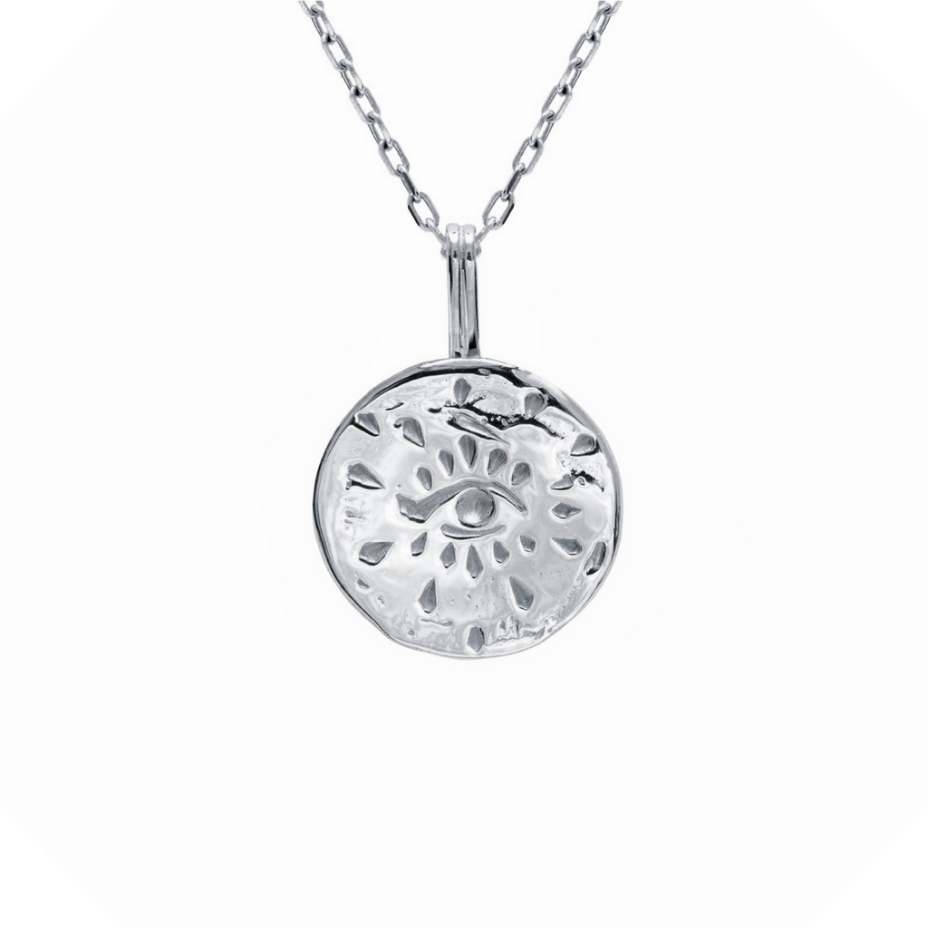 Inner Power Necklace Sterling Silver