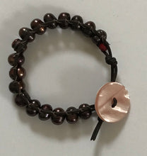 Load image into Gallery viewer, Brown Pearl Wrap Bracelet
