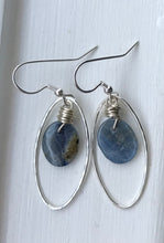 Load image into Gallery viewer, Calming Kyanite Earrings