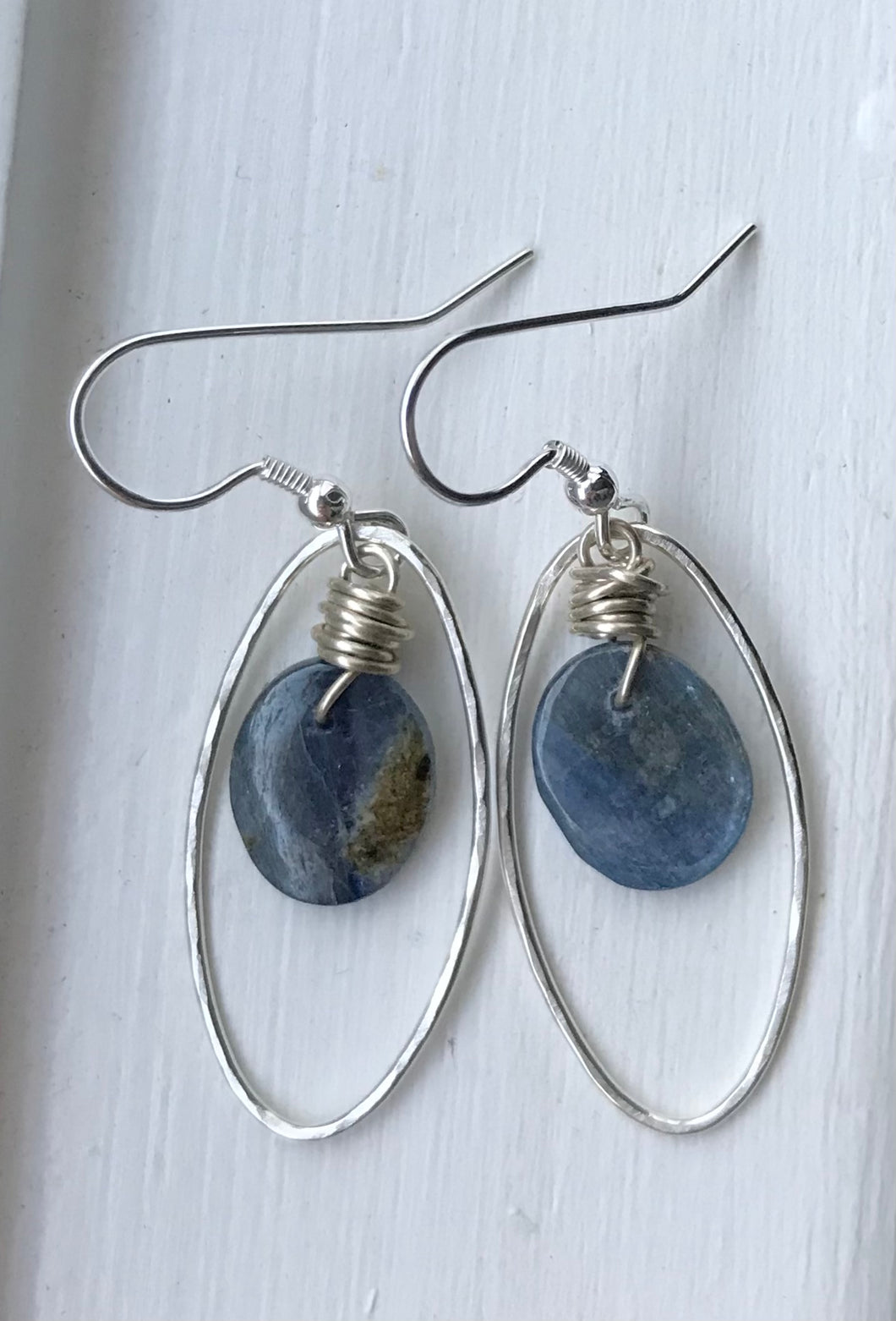 Calming Kyanite Earrings