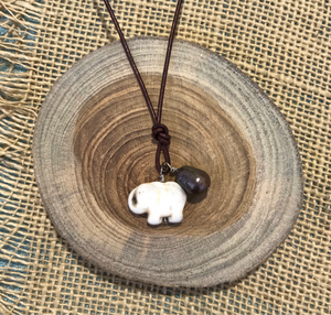 "White Elephant 16"" Necklace"