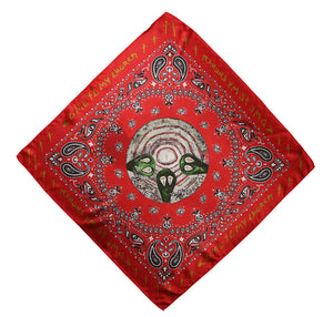 Silk Bandanas- Red / Blue / Black