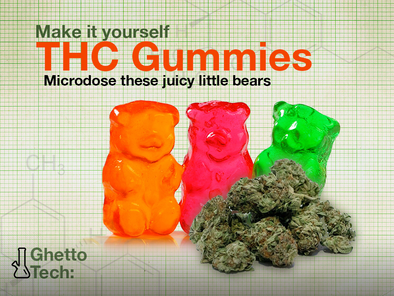 Ghetto Tech: Make it yourself THC Gummies