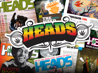 aHEAD of its time - The Heads Magazine story