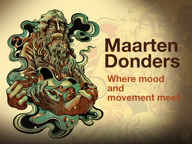 The artwork of Maarten Donders