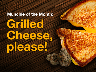 Munchie of the Month: Grilled Cheese, please!