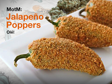 Munchie of the Month: Jalapeño Poppers