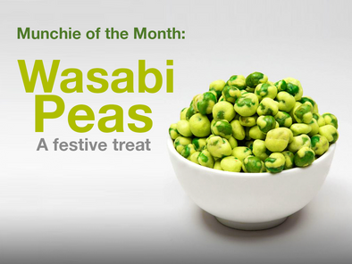 Munchie of the Month: Wasabi Peas