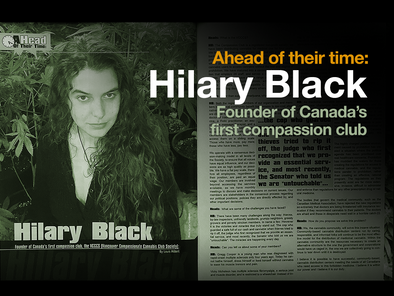 Ahead of their time: Hilary Black