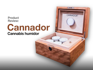 Product Review: Cannador Cannabis humidor