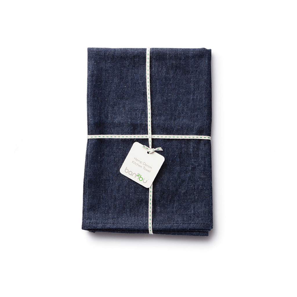Hemp Denim Dish Towel