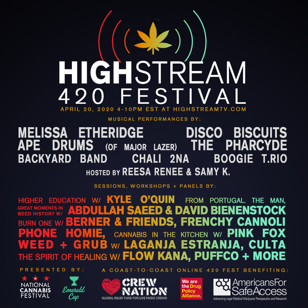 Heads Lifestyle: Highstream 420 Festival lineup