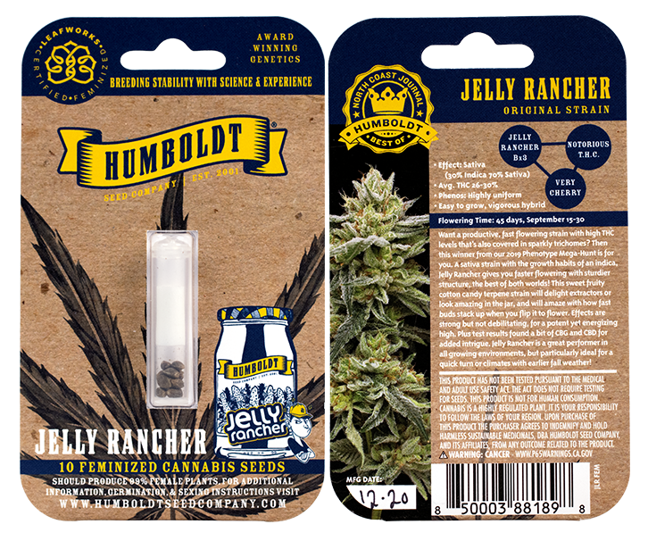 Heads Lifestyle: Jelly Rancher seed pack