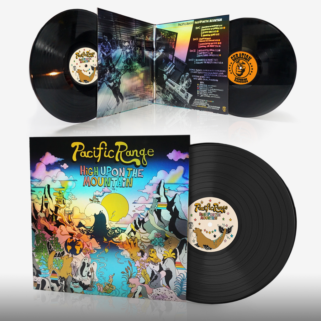 Heads Lifestyle 2020 Gift Guide: Pacific Range Vinyl by Curation Records 2