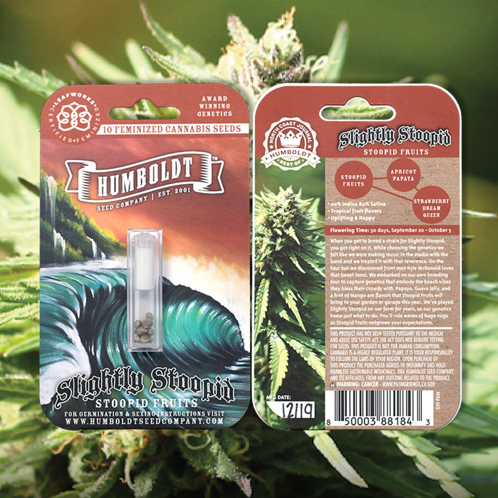 Heads Lifestyle 2020 Gift Guide: Slightly Stoopid Fruits