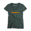 Cannivore Hemp Organic Womens V Neck Tee