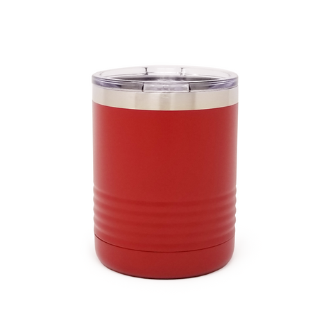 10 oz. Grip Tumbler - Red