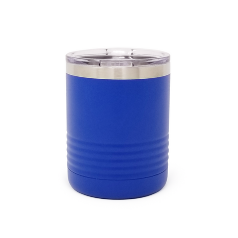 10 oz. Grip Tumbler - Royal Blue