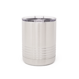 10 oz. Grip Tumbler - Stainless Steel