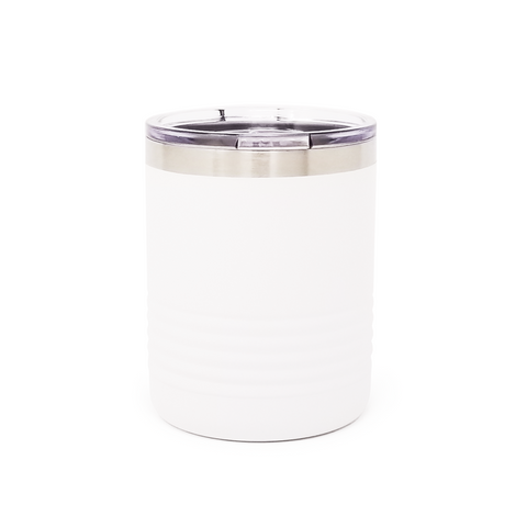10 oz. Grip Tumbler - White