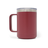 15 oz. Mug Handle Tumbler - Maroon
