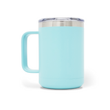 15 oz. Mug Handle Tumbler - Mint