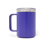 15 oz. Mug Handle Tumbler - Purple