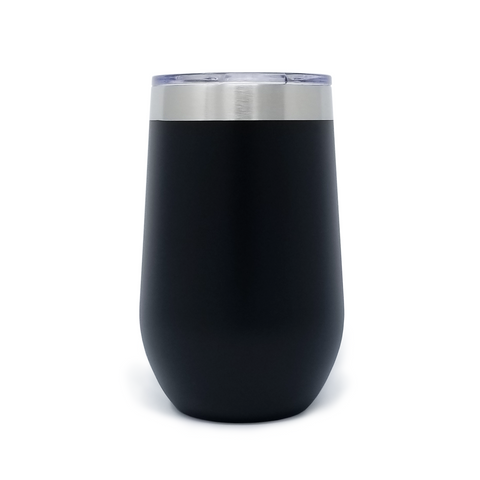 16 oz. Wine Tumbler - Black