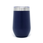 16 oz. Wine Tumbler - Navy Blue