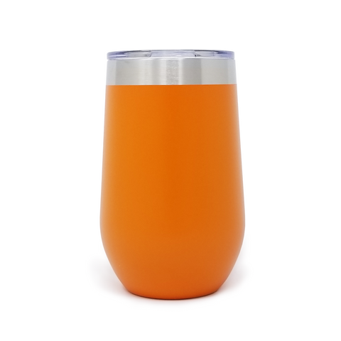 16 oz. Wine Tumbler - Orange