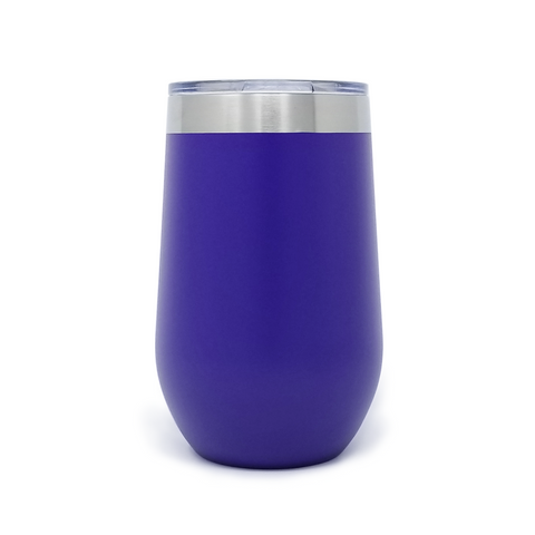 16 oz. Wine Tumbler - Purple