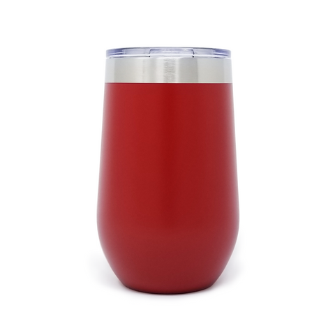 16 oz. Wine Tumbler - Red