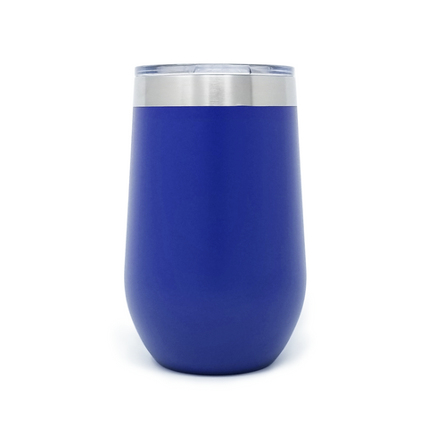 16 oz. Wine Tumbler - Royal Blue