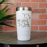 20 oz. Grip Tumbler - White