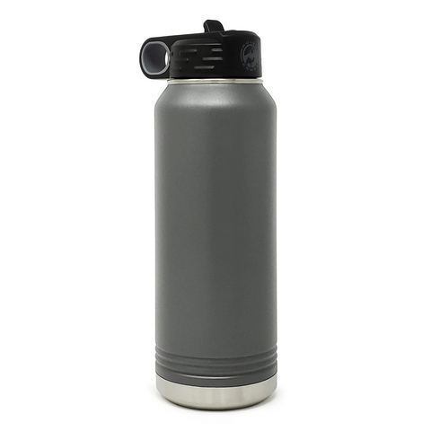 32 oz. Insulated Bottle - Charcoal