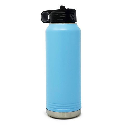 32 oz. Insulated Bottle - Light Blue