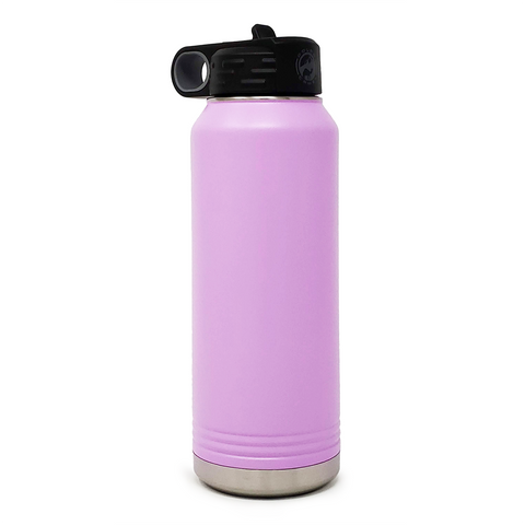 32 oz. Insulated Bottle - Light Purple