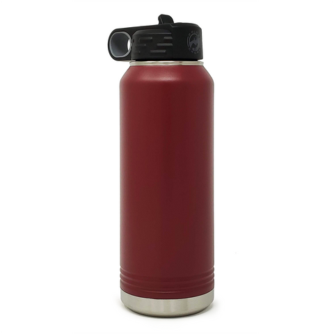 32 oz. Insulated Bottle - Maroon