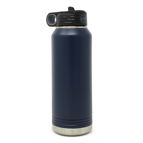 32 oz. Insulated Bottle - Navy Blue