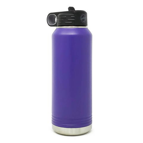 32 oz. Insulated Bottle - Purple