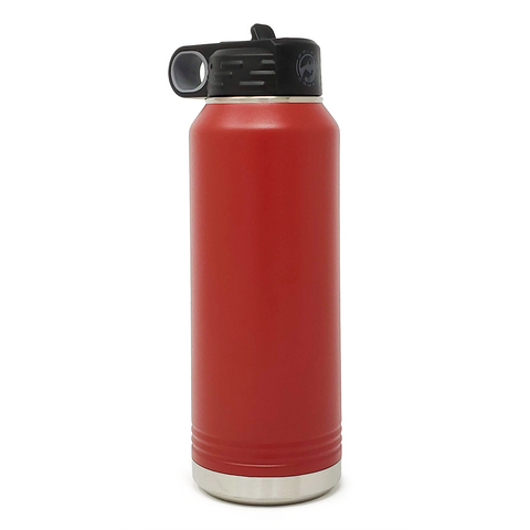 32 oz. Insulated Bottle - Red