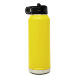 32 oz. Insulated Bottle - Yellow