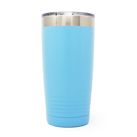 20 oz. Grip Tumbler - Light Blue