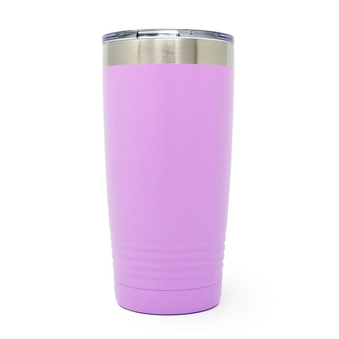 20 oz. Grip Tumbler - Light Purple