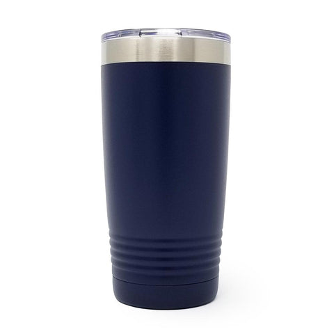 20 oz. Grip Tumbler - Navy Blue