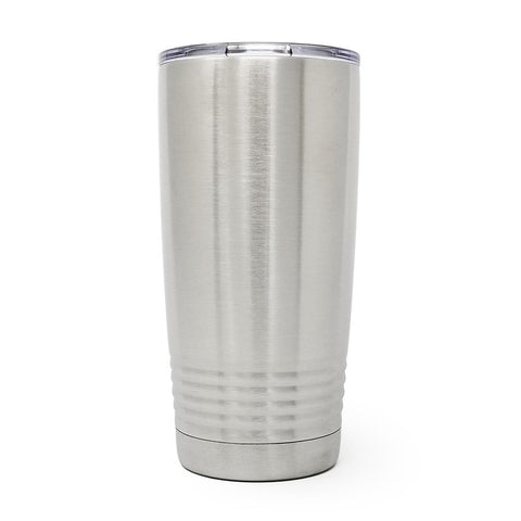 20 oz. Grip Tumbler - Stainless Steel