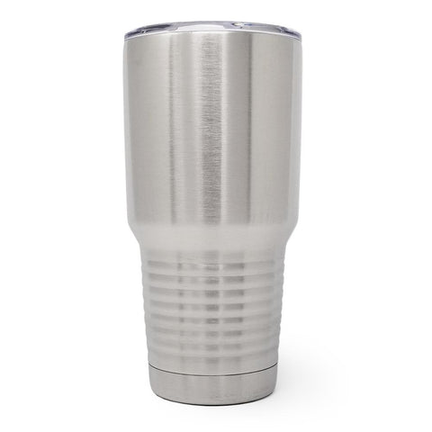 30 oz. Grip Tumbler - Stainless Steel