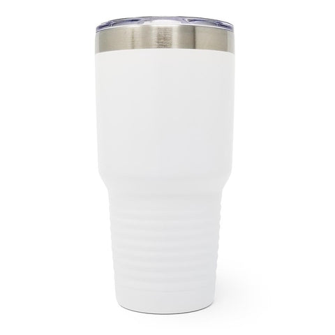 30 oz. Grip Tumbler - White