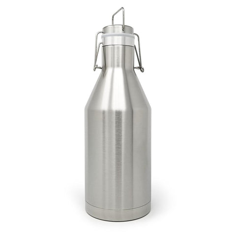 64 oz. Beer Growler - Stainless Steel